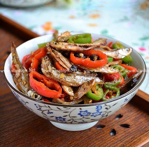 第4步豆豉辣椒火焙鱼的做法图片
