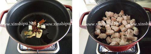 第3步猪肉炖粉条的做法图片