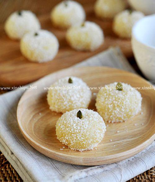 第1步椰蓉糯米糍的做法图片