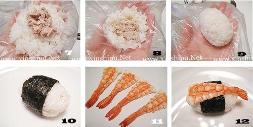 第3步海鲜寿司的做法图片