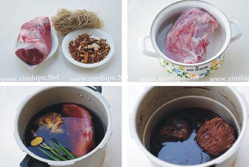第2步牛肉粉丝煲的做法图片