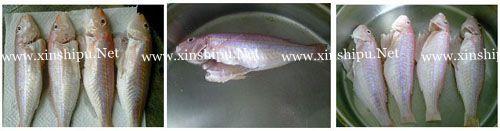 第3步自制美味红烧鱼的做法图片