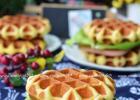 自制家庭版美味 比利时华夫饼的做法